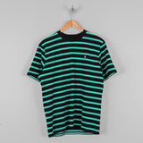 Carhartt WIP Oakland S/S Striped Tee - Black / Yoda 1