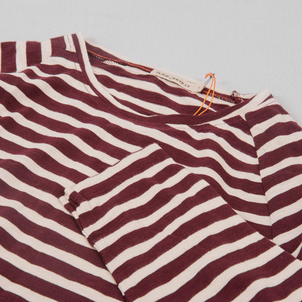 Nudie Otto L/S Striped Tee - Fig 2