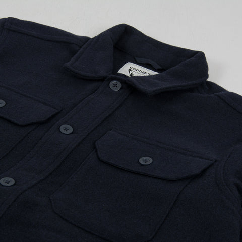 Carhartt WIP Owen Shirt Jacket - Dark Navy 2