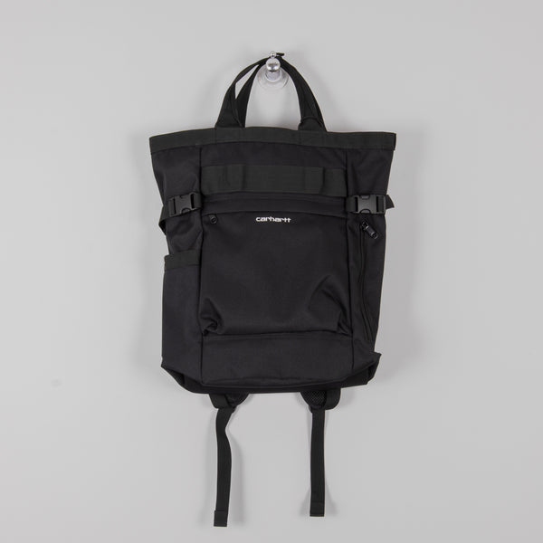 Carhartt Payton Carrier Backpack - Black / White 1