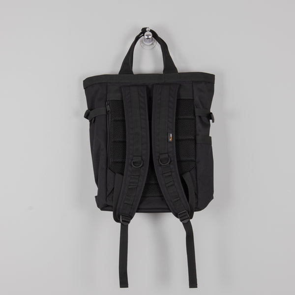 Carhartt Payton Carrier Backpack - Black / White 3