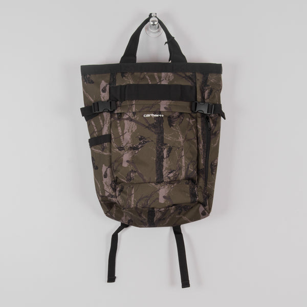 Carhartt WIP Payton Carrier Backpack - Camo Tree / Green / White 1