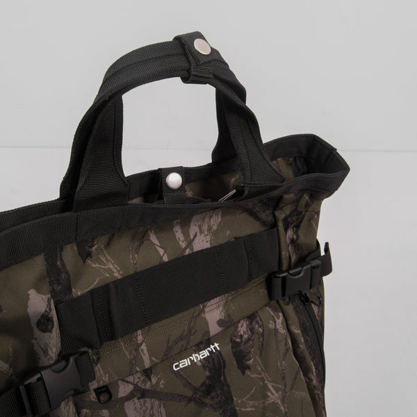 Carhartt WIP Payton Carrier Backpack - Camo Tree / Green / White 2