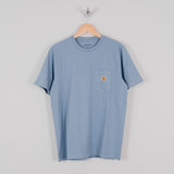 Carhartt S/S Pocket Tee - Cold Blue 1