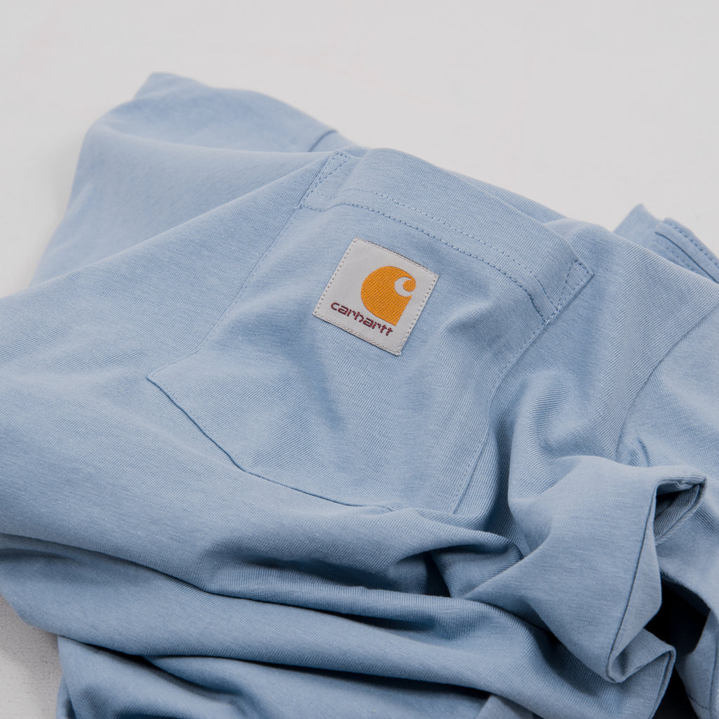 Carhartt S/S Pocket Tee - Cold Blue 2