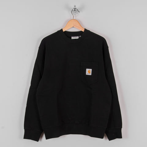 Carhartt WIP Pocket Sweat - Black 1
