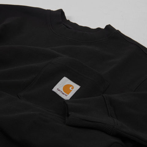 Carhartt WIP Pocket Sweat - Black 2