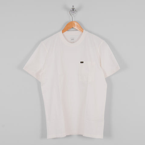 Lee Pocket Tee - Ecru 1