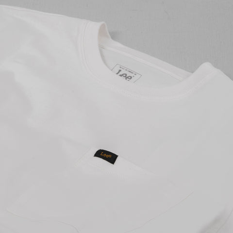 Lee Pocket Tee - Ecru 2