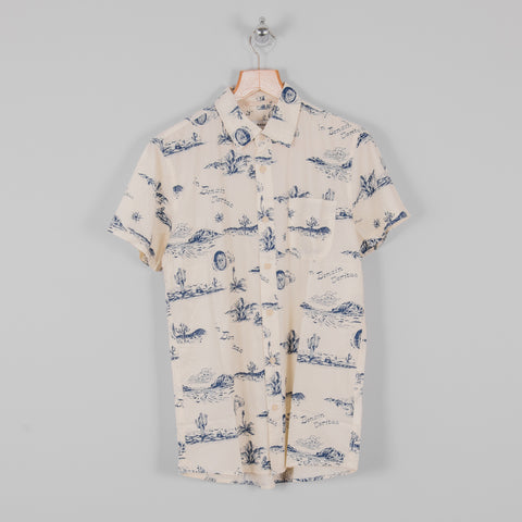Deus ex Machina Ralph Spring Shirt - Ecru Springs 1