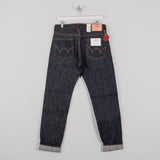 Edwin Regular Tapered Jeans - Nihon Menpu Dark Pure Indigo Blue Selvage 1