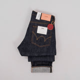 Edwin Regular Tapered Jeans - Nihon Menpu Dark Pure Indigo Blue Selvage 2