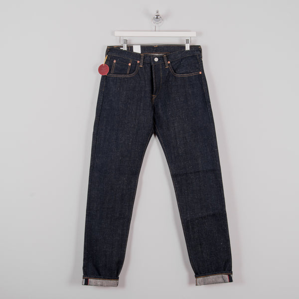 Edwin Regular Tapered Jeans - Nihon Menpu Open Weave Blue Selvage 3