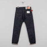 Edwin Regular Tapered Jeans - Nihon Menpu Open Weave Blue Selvage 1