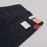 Edwin Regular Tapered Jeans - Nihon Menpu Open Weave Blue Selvage 4