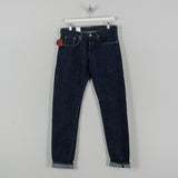 Edwin Regular Tapered Nihon Menpu - Open Weave Blue Even Wash Jeans 3