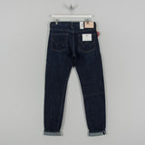 Edwin Regular Tapered Nihon Menpu - Open Weave Blue Even Wash Jeans 1