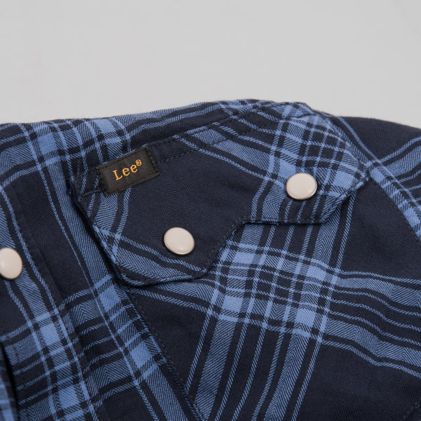 Lee Rider Shirt - Navy Drop