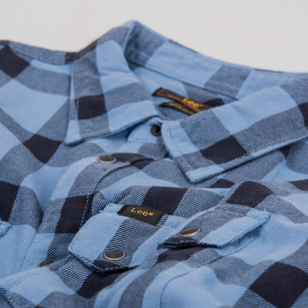 Lee 101 Rider Shirt - Frost Blue 2