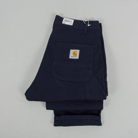 Carhartt WIP Ruck Single Knee Pant - Dark Navy Rinsed 6