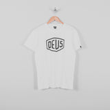 Deus ex Machina Shield Tee - White Front