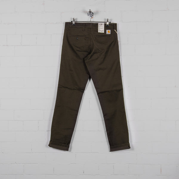 Carhartt Sid Pant - Cypress Rinsed Back
