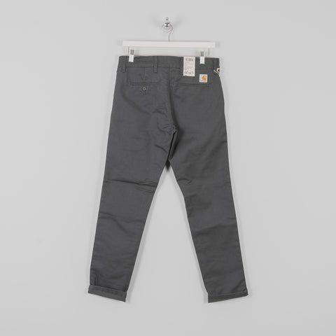 Carhartt Sid Pants - Blacksmith Rinsed Back