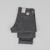 Carhartt Sid Pants - Blacksmith Rinsed Detail