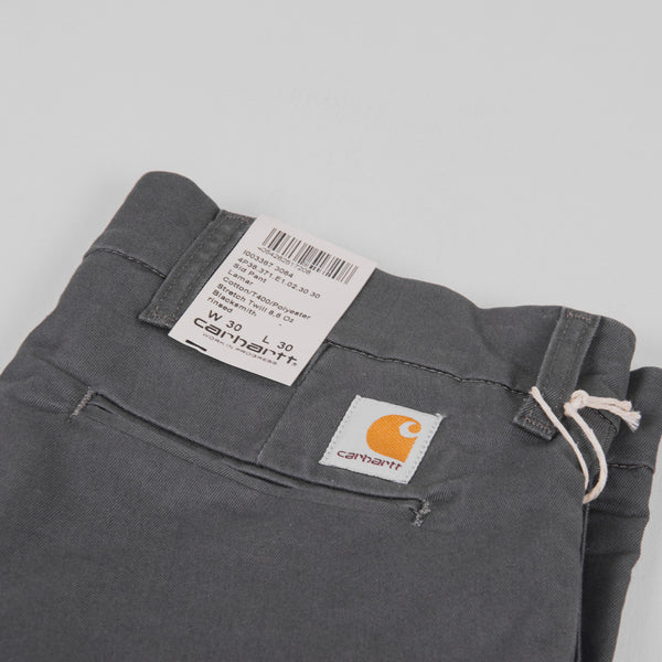 Carhartt Sid Pants - Blacksmith Rinsed Pocket