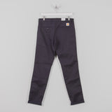 Carhartt Sid Pants - Dark Navy 1