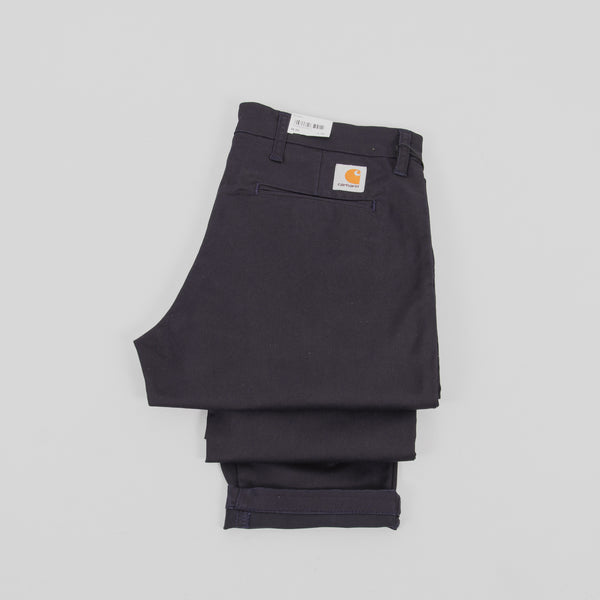 Carhartt Sid Pants - Dark Navy 2