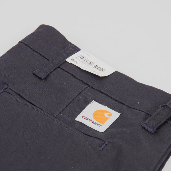 Carhartt Sid Pants - Dark Navy 5