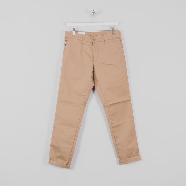Carhartt Sid Pants - Leather Rinsed Front