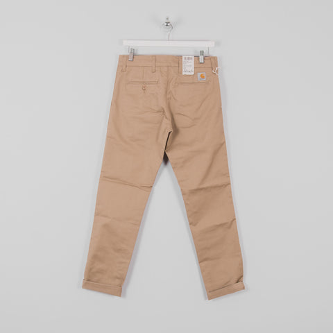 Carhartt Sid Pants - Leather Rinsed Back