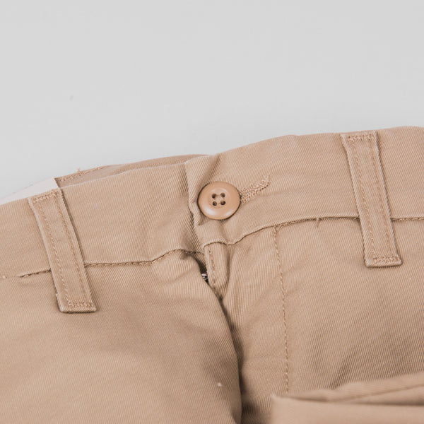 Carhartt Sid Pants - Leather Rinsed Button