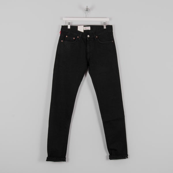 Hawksmill Denim Co Slim Tapered Black Soak Selvedge Jean 1