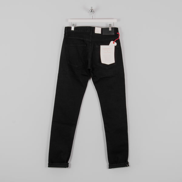 Hawksmill Denim Co Slim Tapered Black Soak Selvedge Jean 4