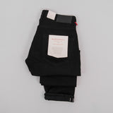 Hawksmill Denim Co Slim Tapered Black Soak Selvedge Jean 2