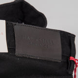 Hawksmill Denim Co Slim Tapered Black Soak Selvedge Jean 5