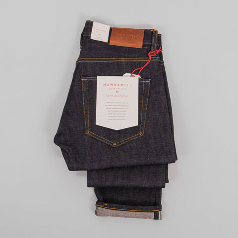Hawksmill Denim Co Slim Tapered Japanese Selvedge Jean - Dry 2