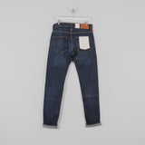Hawksmill Denim Co Slim Tapered Jeans - Dark Wash Back