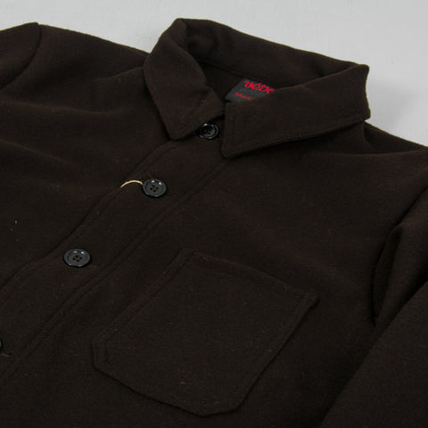 Vetra Soft Melton Workwear Jacket - Brown 2
