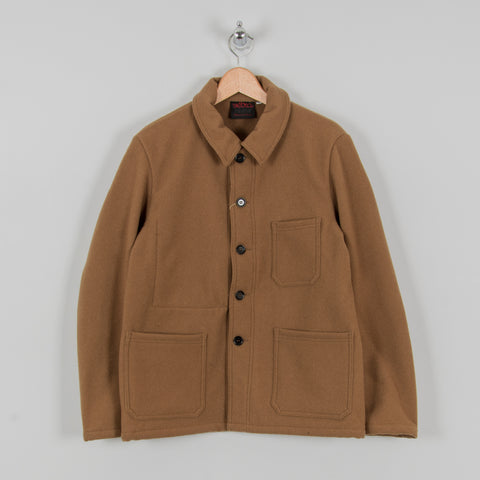 Vetra Soft Melton Workwear Jacket - Camel 1