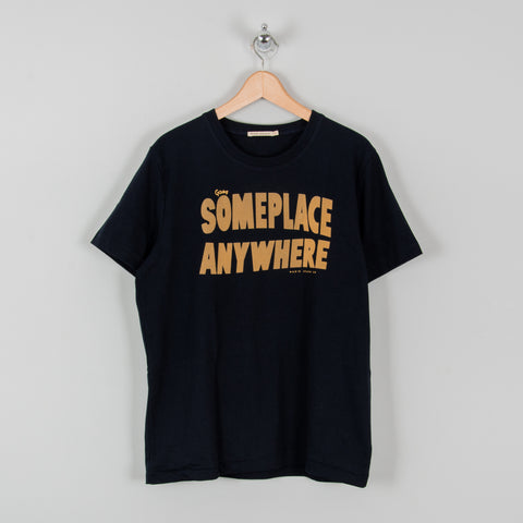 Nudie Someplace Anywhere Tee - Navy 1