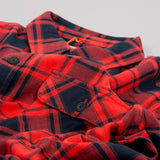 Nudie Sten Flannel Check Shirt - Red Alert 2