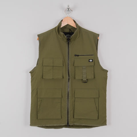 Dickies Stillmore Vest - Army Green 1