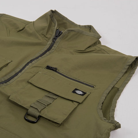 Dickies Stillmore Vest - Army Green 2