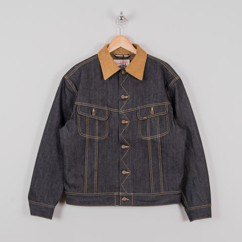 Lee 101 Storm Rider Lined Jacket - Selvage Denim 1