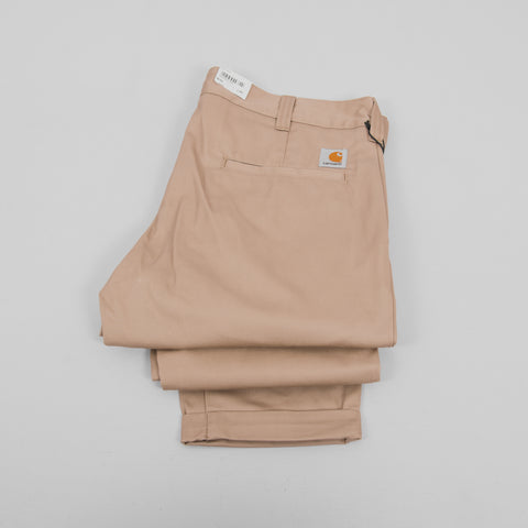 Carhartt Taylor Pant 9oz Rigid - Leather 2