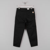 Carhartt Taylor Pant 8oz Stone Washed - Black 1
